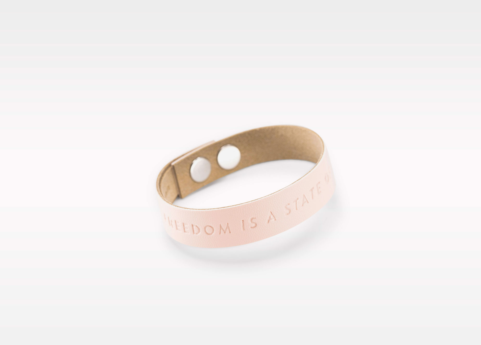 Wristbanditz nude freedom is a state of mind