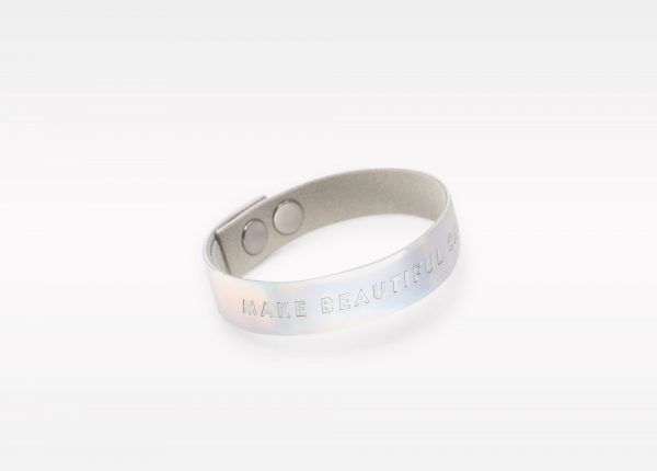 Wristbanditz silver make beautiful choices
